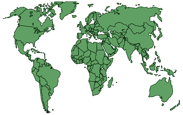 Small dimension political world maps free world maps a political world map with transparent water areas gumiabroncs Choice Image